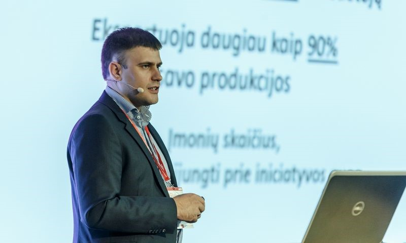 """UAB """"Arginta Engineering"""" direktorius T. Jaskelevičius išrinktas """"LINPRA"""" prezidentu"""